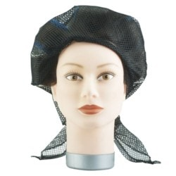 Denman Solida Triangular Hair Net - Black
