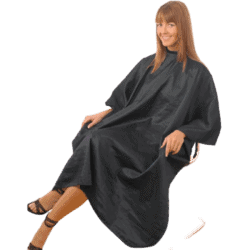 Hair Tools Unisex Gown - Black