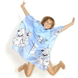 Hair Tools Children's Gown - Blue