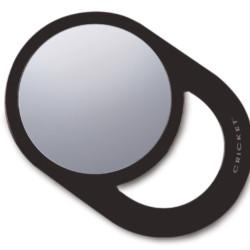 Agenda Cricket Oval Styling Mirror Black