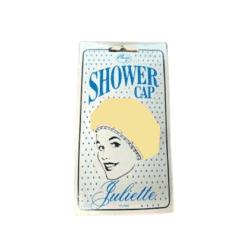 Denman Comby Juliette Plain Shower Cap – Yellow